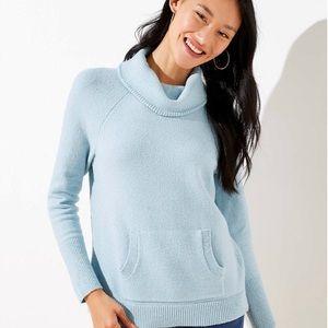 ✨NWT LOFT Cozy Sweater w/ Pouch✨